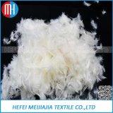 Lavarse el plumón de pato relleno de pluma para material de almohada cojín