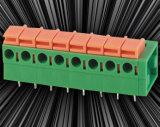 Het Blok van Teminal van de lente met de Dubbele Kopbal van de Speld voor 5.08mm of 7.62mm het Uit elkaar plaatsen van de Speld