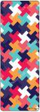 Печать картины геометрии ягнится циновка Playmat естественное Eco йоги содружественное