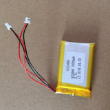 Fabrication chinois 503456 1000mAh Batterie Lipo 3,7 V pour GPS tracker