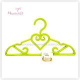 Conjunto en forma de corazón plástico de la percha de ropa de los PP de 4 (los 31*21cm)