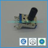 차 DVD Player/GPS 항법 오디오 의료 기기를 위한 11mm 샤프트를 가진 10k 로터리 스위치 전위차계