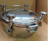 Fuga rotonda sanitaria di pressione dell'acciaio inossidabile Ss304