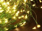 크리스마스를 위한 구리 낱단 빛 200LED