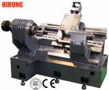 水平のベンチの回転旋盤機械、CNCの旋盤の傾斜のベッドEL42