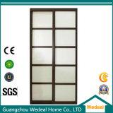 Artesão interno Navio de madeira sólida com vidro