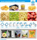 Automatische Garnele-Cracker-Garnele bricht Popcorn-Imbiss-Verpackmaschine ab
