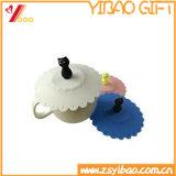 Изготовленный на заказ симпатичная крышка чашки силикона кофеего чая формы