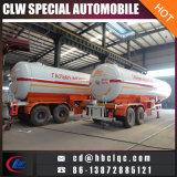Double semi-remorque de réservoir de LPG de réservoir de remorque des essieux 20000kg 40.5m3 LPG