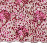 Multi tessuto di Tulle della rete del Sequin di colore