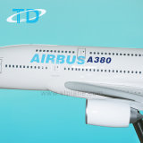 Vliegtuig van de Hars van de Kleur van het Huis van de luchtbus A380 het Grote Model
