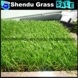 人工的な芝生の草5年の生命保証25mmの