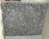 Волна белого гранита плитки для монтажа на стену оболочка пол столешницами