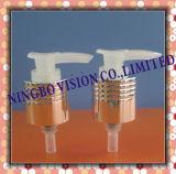 無光沢のアルミニウムプラスチックローションのクリームポンプディスペンサー