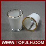 세륨 질 작은 포도주 컵 셧 잔 찻잔