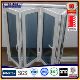 Résidentiel Bi Fold Aluminium Windows Fenêtres thermodurcissables