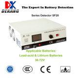 Détection de la série Testeur de batterie universel pour les batteries au lithium et au plomb