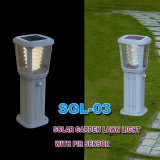 Waterproof Stainless Steel LED Garden Solar Light Decoração