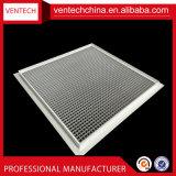 Griglia di aria rotonda di alluminio della griglia di Eggcrate dei sistemi di HVAC