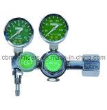 Medizinischer Anzeigeinstrument-Fluss-Sauerstoff-Regler für große Becken O2