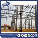 Structure métallique à parois minces de bâti léger de l'espace pour le retrait d'atelier avec le panneau solaire de toit