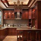 Móveis de cozinha Gabinete de cozinha de madeira maciça de madeira sólida (GSP5-049)