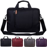 Nylon à prova de choque Laptop Case Computer Sleeve Shoulder Messenger Bag Mala de viagem