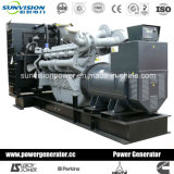 Generador de potencia de Deutz 250kVA, generador industrial con recinto