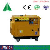 Aircooled тепловозный тип горячие сбывания генератора 5kw молчком