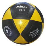 De Bal van het voetbal past de In het groot Voetbal van pvc van de Bal van het Voetbal, de Bal van het Voetbal van pvc van het Af:drukken van de Douane aan