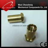 특별한 금관 악기 ISO 증명서를 가진 삽입에 의하여 맷돌로 갈리는 견과