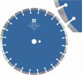 Láser de 350mm de la hoja de sierra de diamante de corte de hormigón armado