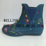 Type Rainboots en caoutchouc coloré de la mode des femmes