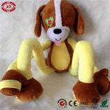 Peluche paresseuse de Stretchkins de singe molle pour des gosses apprenant des jouets