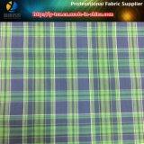 Il nylon ed il poliestere si sono mescolati con il tessuto tinto filato dello Spandex per l'indumento (LY-YD1161)