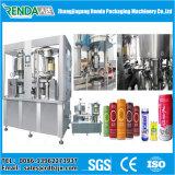 El refresco puede máquina de relleno y de aislamiento