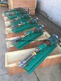Hohe Leistungsfähigkeits-Edelstahl-einzelne Schrauben-Pumpe für Tomatenkonzentrat