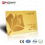 Carte d'adhésion sèche de qualité d'IDENTIFICATION RF de PVC à haute fréquence