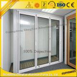 Fenêtre aluminium OEM et cadre de porte avec isolation thermique en aluminium