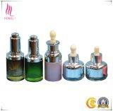 Frasco cónico com vaso esmeril e garrafa cônica para óleo essencial