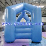 """Круглая форма надувные Арчуэй""""/синий надувные колесной арки для рекламы"""
