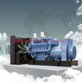 Mtu 2400kw 디젤 엔진 힘 Genset 또는 발전기 세트