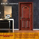 Portas de madeira contínuas do estilo clássico para as casas de campo (GSP2-029)