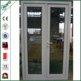 Schwingen-geöffnete Flügelfenster-Türen des Hurrikan-Beweis-VinylUPVC für Verkauf
