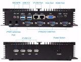 Kleiner Doppelmini industrieller PC intel LAN-Fanless mit 1037u