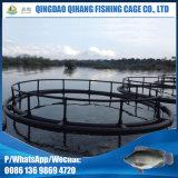 Клетка оборудования рыб водохозяйства трубы HDPE