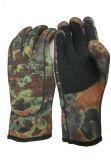 Перчатки неопрена для рыболовства и звероловства (HX-G0067)