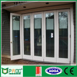 Алюминиевая дверь складчатости профиля с сертификатом Ce
