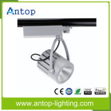 Hot 30W White / Black LED COB Track Light pour bijouterie