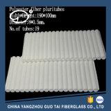 Vezel de van uitstekende kwaliteit Pluritubes van de Polyester voor Lead-Acid Batterijen
